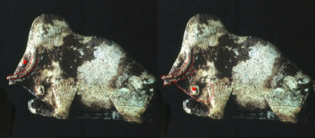 Оптические иллюзии. Мамонт и бизон
