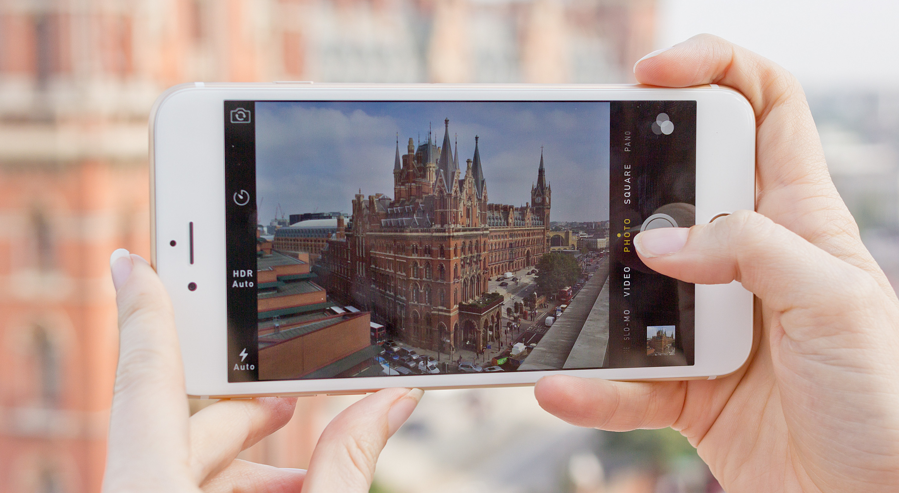 Швейцарский телеканал использует iPhone вместо телекамер