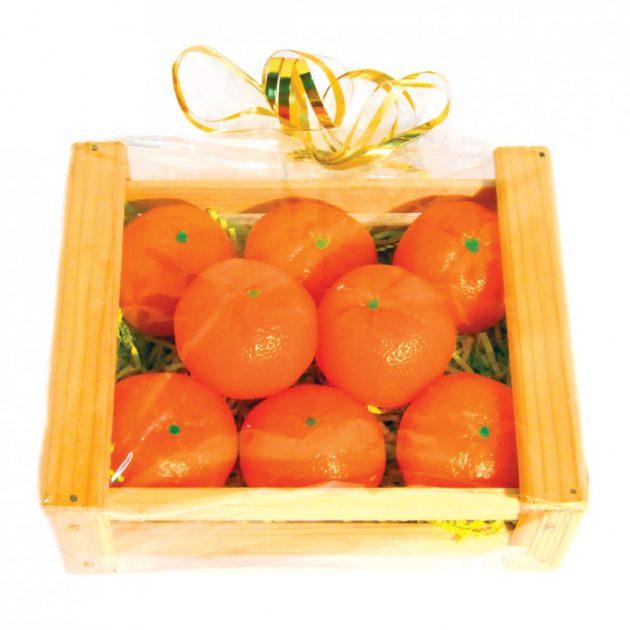 Подарки на Новый год: мандариновое мыло