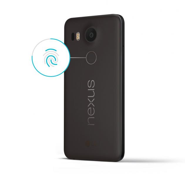 Nexus 5X и Nexus 6P: сканер отпечатков