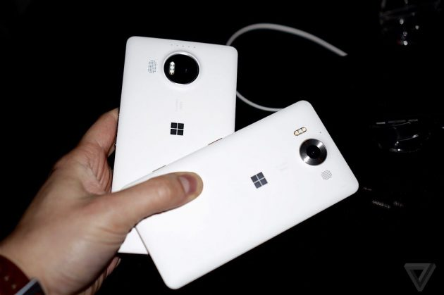 Microsoft Lumia 950 и Microsoft Lumia 950 XL: камера