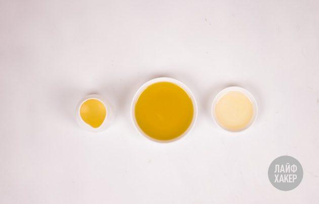 Заправка для салата: выбираем масло