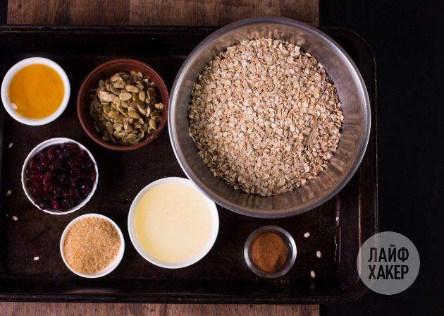 Гранола — ингредиенты
