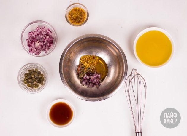 Заправка для салата: смешиваем ингредиенты