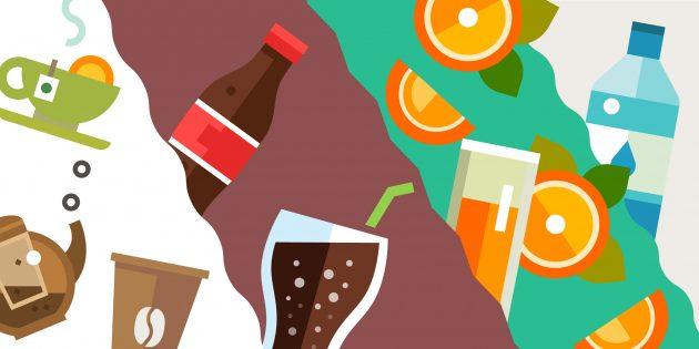 Самые популярные ингредиенты напитков