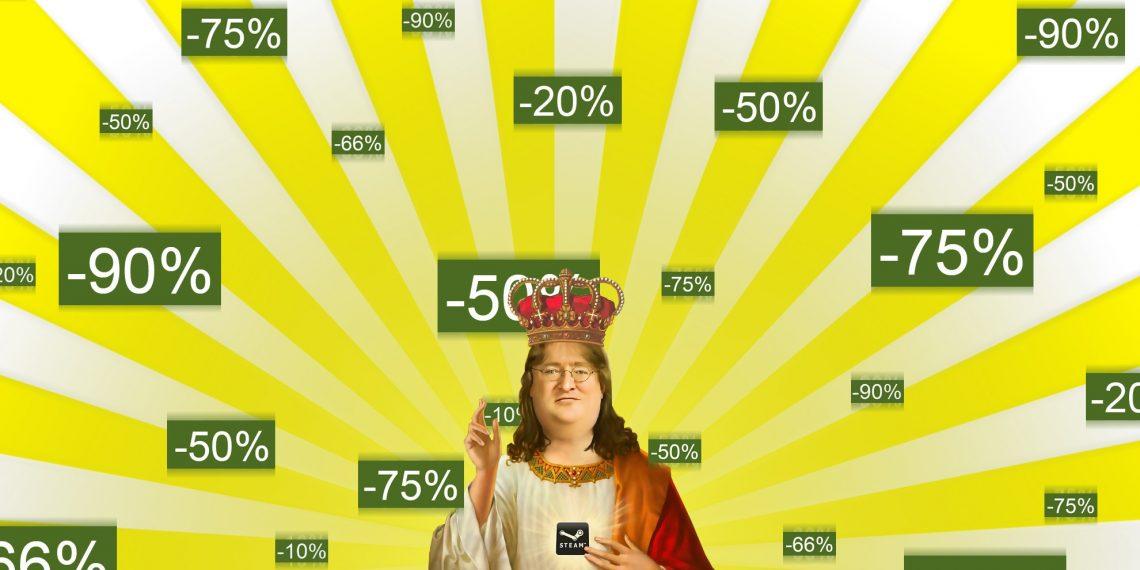 Началась большая осенняя распродажа в Steam!