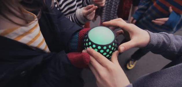 Hackaball, мячик, который учит программированию