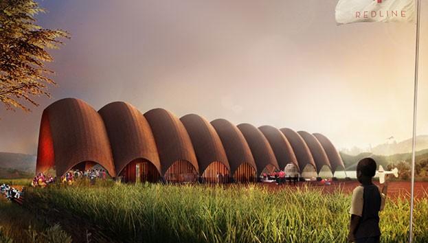 аеропорт для дронів в Руанді