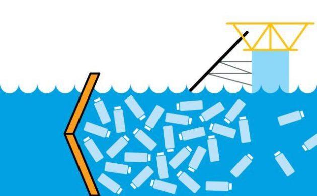очистительная конструкция для океана