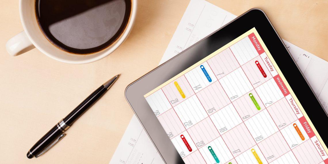 Как работать гораздо эффективнее с помощью календаря