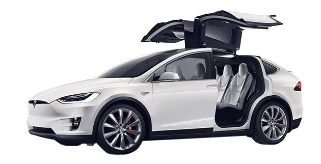 позашляховик Tesla Model X