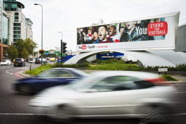 Google ad street