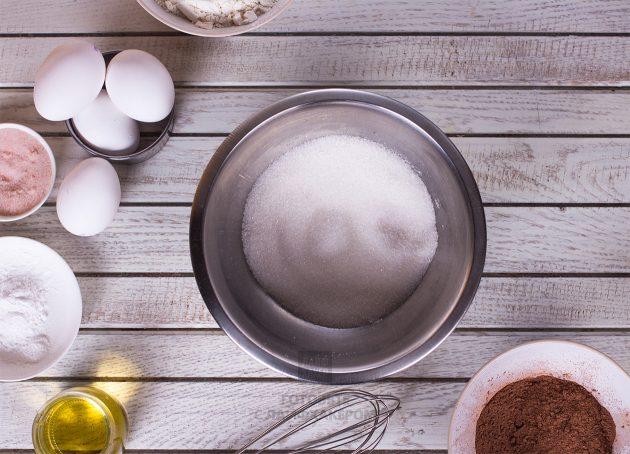 Праздничное шоколадное печенье: ингредиенты