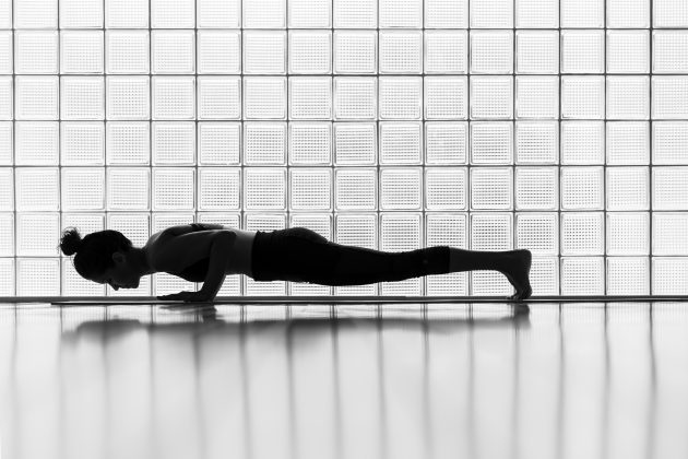 лучшие упражнения — планка