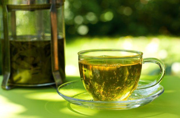 Привычки, которые помогут сбросить вес: пейте зелёный чай