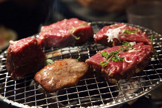 Якинику — мясные блюда
