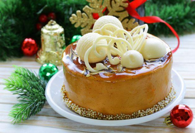 Что приготовить на Новый год: бисквитный торт