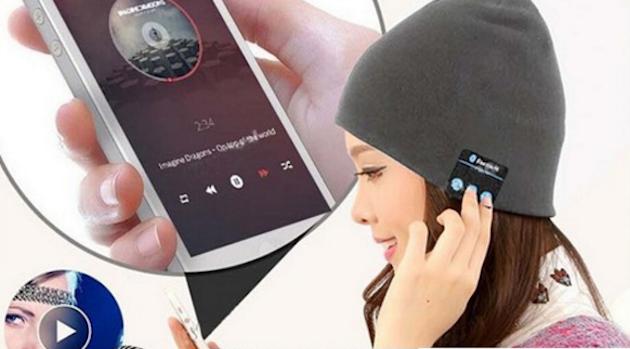 Bluetooth-шапка с наушниками