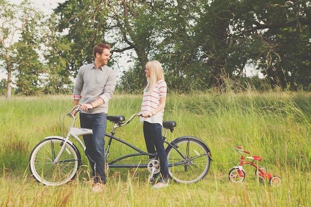 Прибавление в семье любителей велопрогулок
