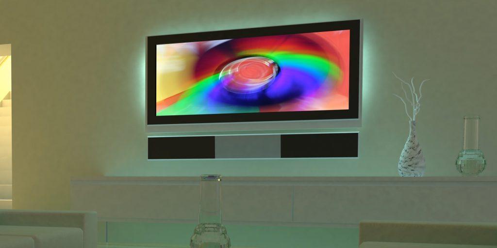 Ambilight своими руками телевизор