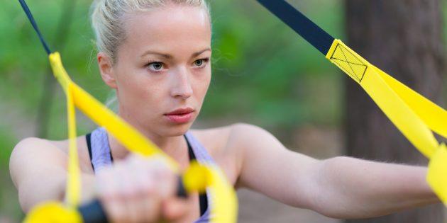 5 упражнений с TRX для бегунов
