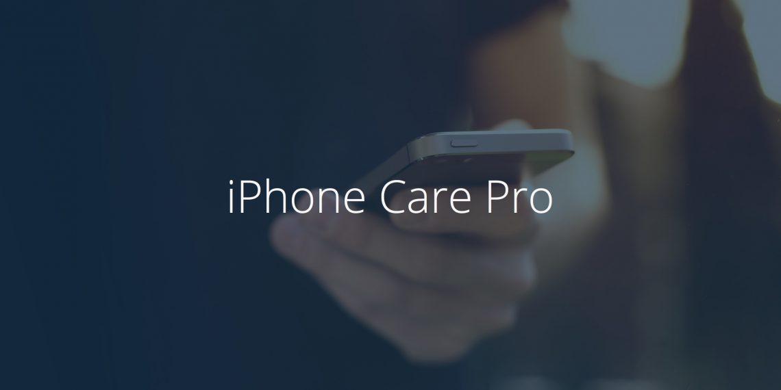 iPhone Care Pro — дворник и менеджер для iOS