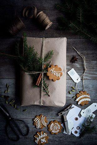 чем украсить новогодний подарок