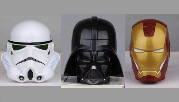 Кружки-шлемы штурмовика, Дарта Вейдера, Железного Человека