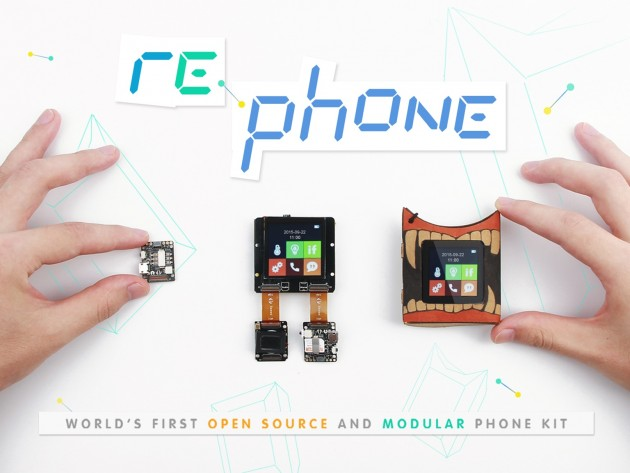 RePhone Kit модульные смартфоны project ara