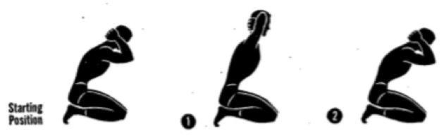 Упражнения для осанки. Наклоны сидя