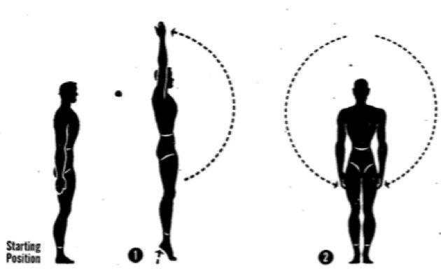 Упражнения для осанки. Подъём рук
