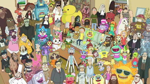 Rick and Morty психоделика