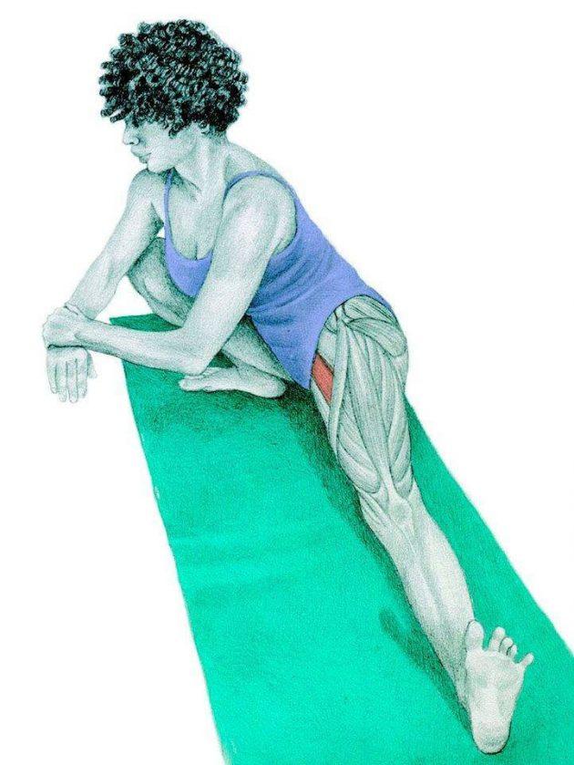 Анатомия стретчинга: боковой выпад