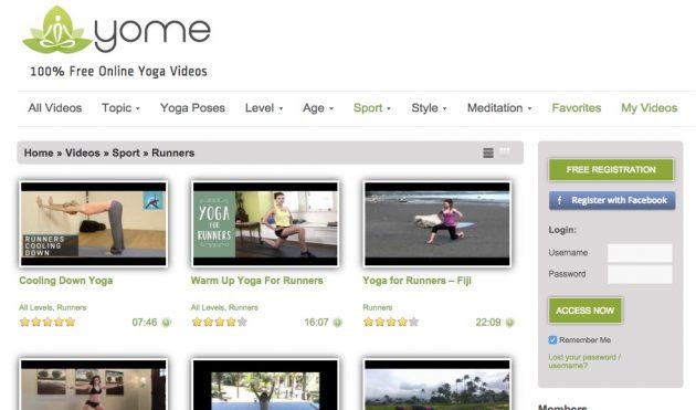 Йога онлайн: Yome