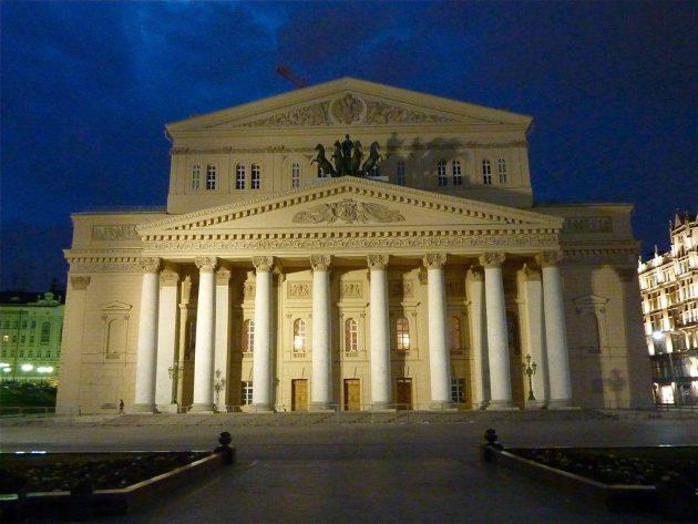 История русского театра как история России