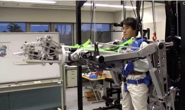 Технологии будущего: строители будут использовать экзоскелеты