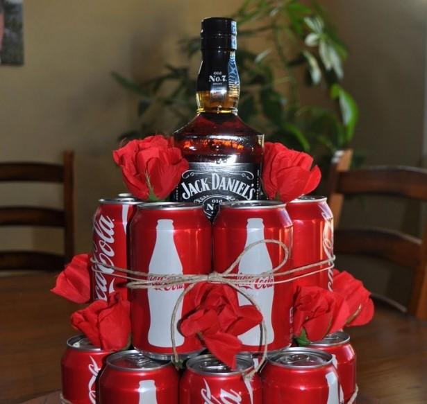 Что подарить на 14 февраля: торт-коктейль