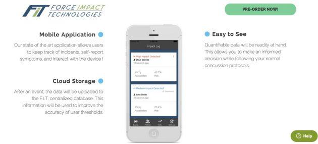 FITGuard: данные передаются в мобильное приложение