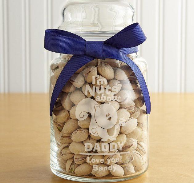 Что подарить на 14 февраля: банка с орехами
