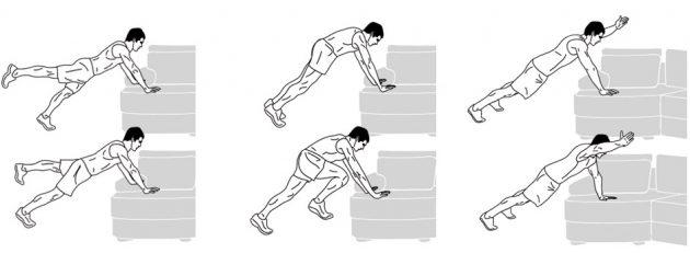 Модификации стандартных упражнений при лишнем весе