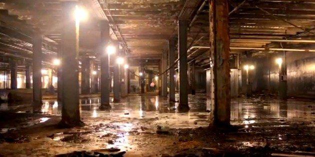 Как будет выглядеть первый в мире подземный парк: заброшенное трамвайное депо