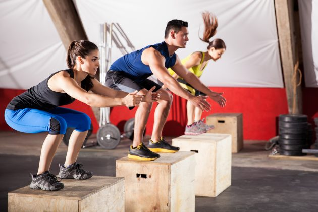 кросс-тренинг — плиометрика