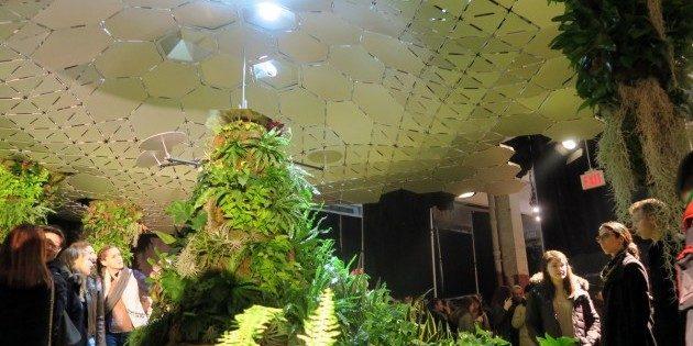 Как будет выглядеть подземный парк: внутри свет передаётся системой зеркал