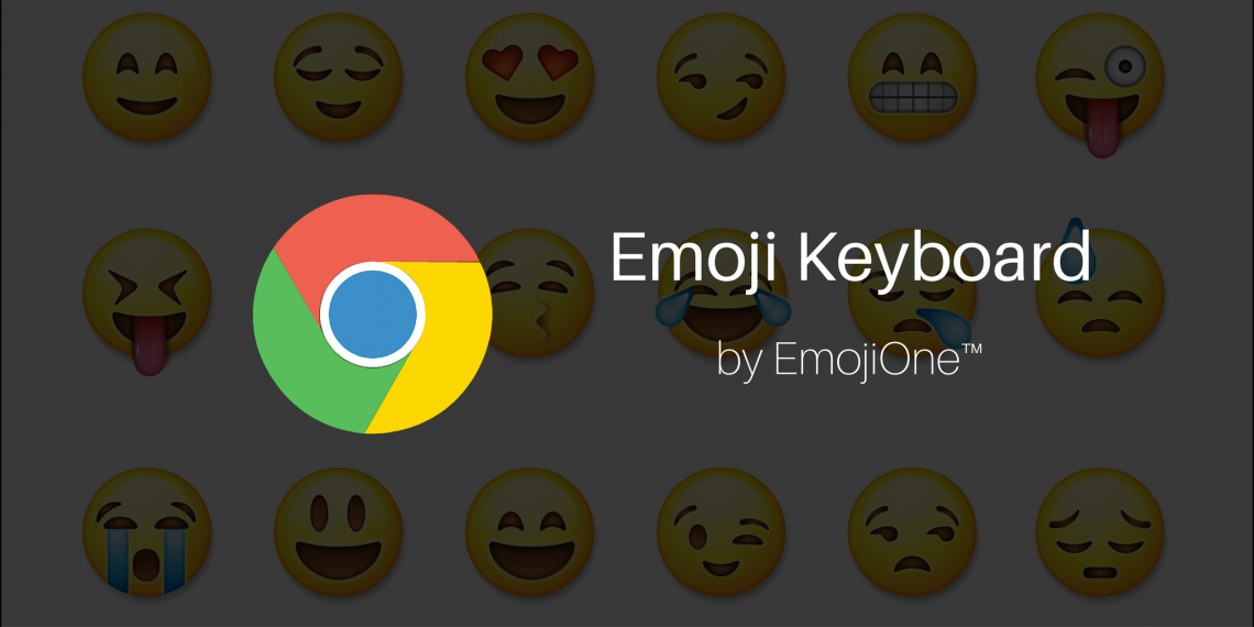 Emoji Keyboard — суперэмодзи для браузера Google Chrome