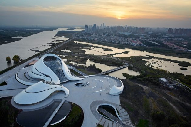 Лучшая архитектура 2016 года по версии ArchDaily: Harbin Opera House