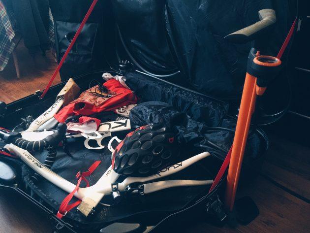 Велосипед в чемодане
