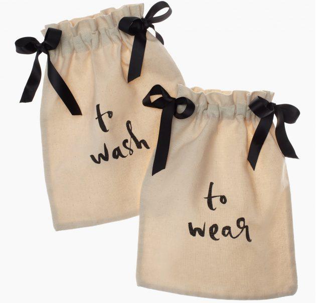 Подарки на 8 Марта: мешочки для белья