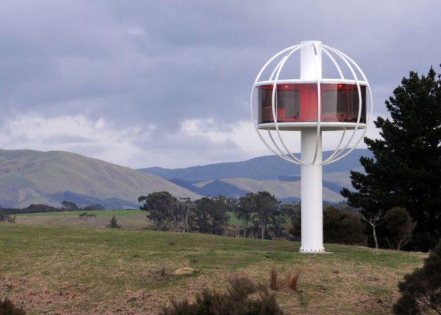 Персональная автономная обзорная площадка Court House, The Skysphere