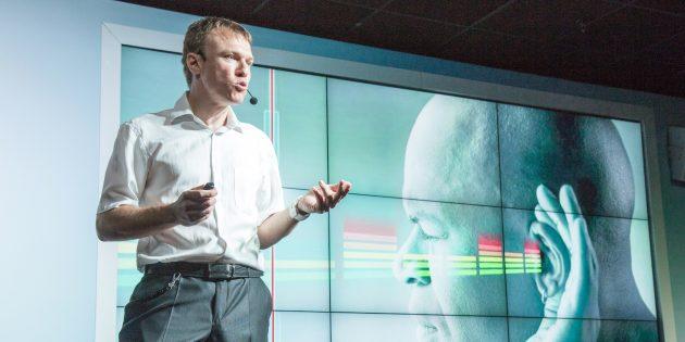 Рабочие места: Игорь Трапезников, нейрофизиолог, лидер проекта «vOICE – звуковое зрение»