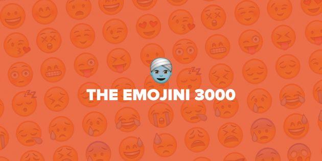 The Emojini 3000 подберёт популярные эмодзи для ваших фотопубликаций